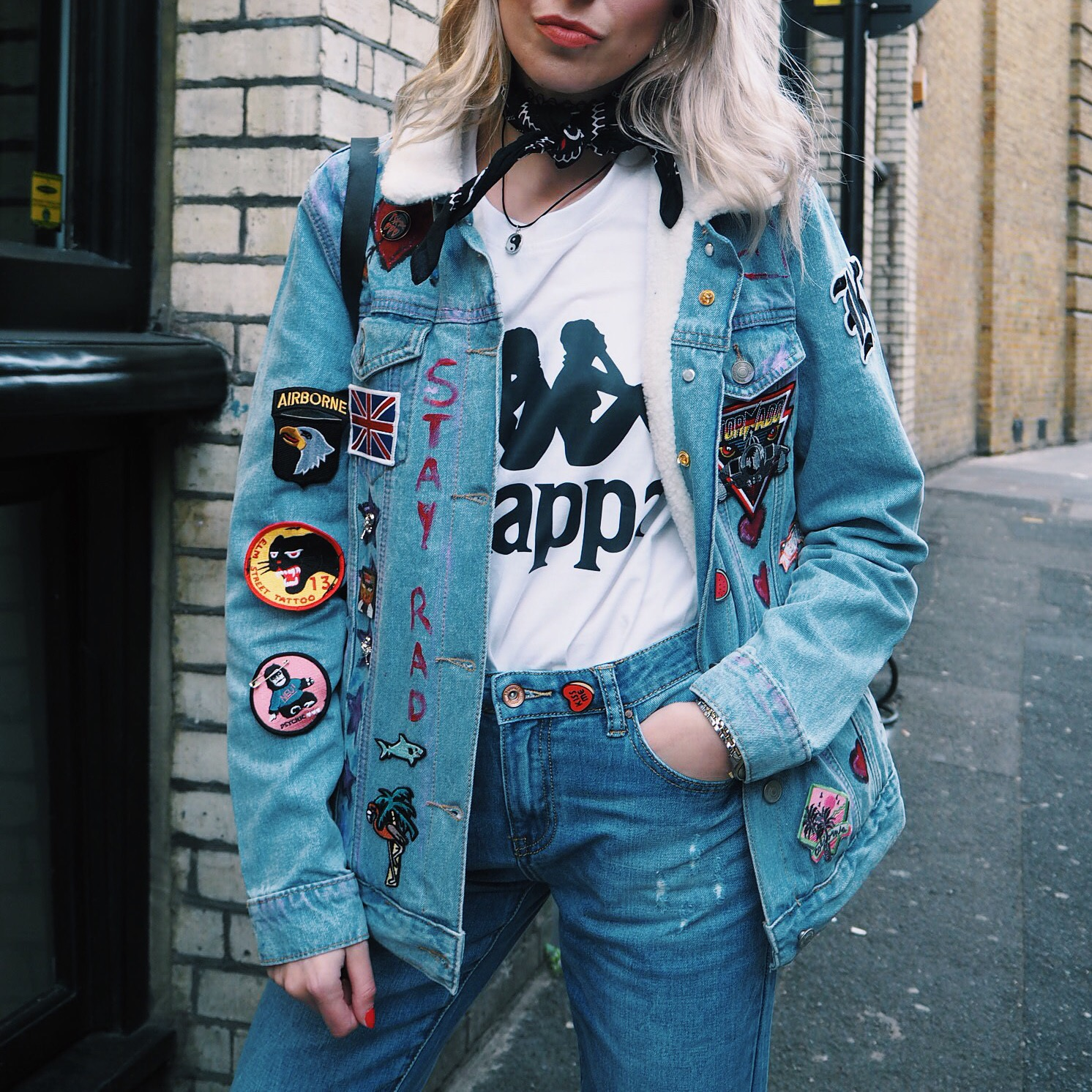 b73e3e15af5 This week I had the pleasure of attending a press event with UK based  womenswear brand Glamorous. The event was focussed on denim customisation  which we all ...